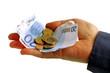 Une poignée d'euros