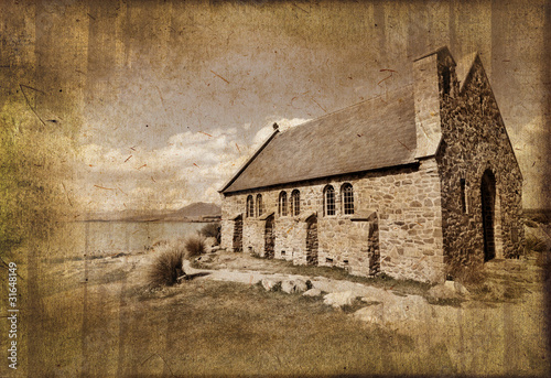 Eglise du lac Tekapo - Nouvelle Zélande