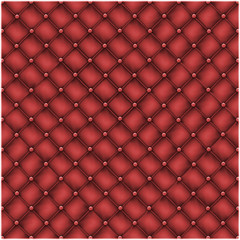 Seamless texture leather quilted a sofa