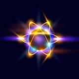 Fototapety Atom