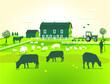 grüne Farm