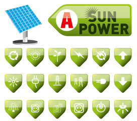 sun power-solar energy