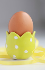 Brown easter egg