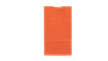 Orange shopping bag turning on itslef