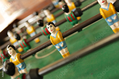 table football man