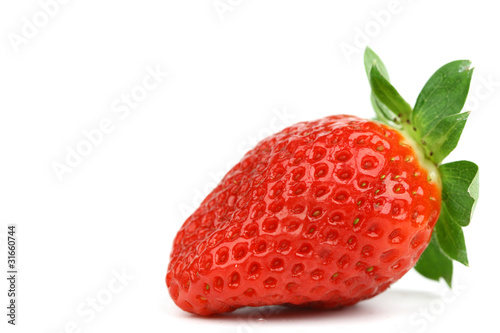 one strawberry