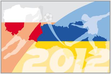 fussballflagge polen ukraine