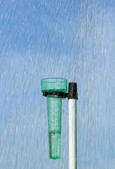 mesure des quantités d'eau de pluie