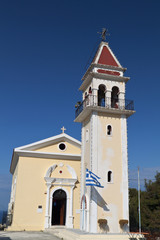 Church at Bochali area of Zakynthos island in Greece