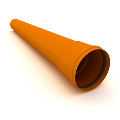 Brown pipe