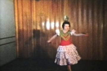 Twirling Dancer (1958 Vintage 8mm film)