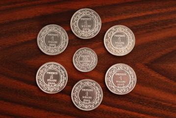 100 ANNI DI MONETE TUNISINE