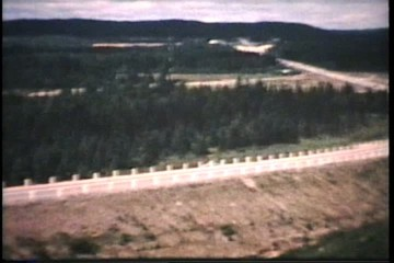 Driving Across Canada (1964 - Vintage 8mm film)