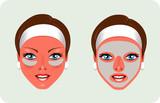 Facial Rejuvenation (mask) poster
