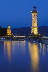 Leuchtturm Hafen Lindau Bodensee