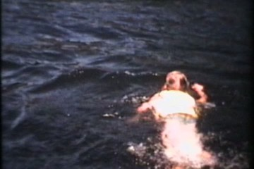 Swimming At The Beach (1973 Vintage 8mm)