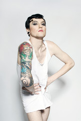 transsexual with tattoos