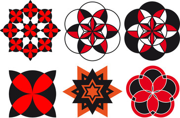 Patterns for ornament