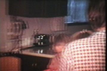 Kids Look For Easter Treats (1975 Vintage 8mm film)