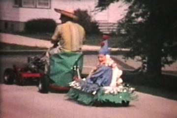 Local Parade (1967 Vintage 8mm film)