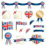 great britain ribbons and seals
