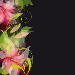 fleurs et arabesques