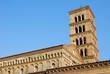 Veduta dell'Abbazia di San Nilo a Grottaferrata - Roma