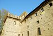 Scorcio del Monastero di San Nilo a Grottaferrata - Roma