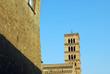 Scorcio del Campanile dell'Abbazia di San Nilo - Grottaferrata -