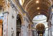 Italy. Rome. Vatican. St Peter's Basilica. Indoor view. - 31688116