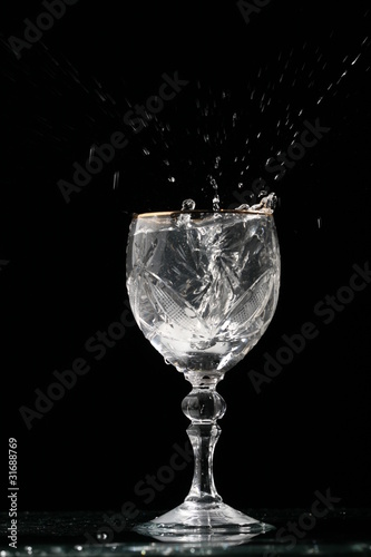 alcohol splash