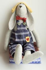Stuffed animal rabbit - kids toy