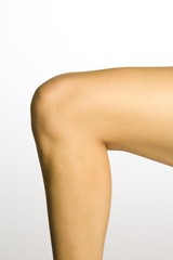 Young Woman's Knee