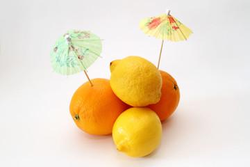 Orangen und Zitronen