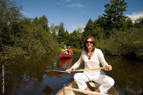 In A Canoe, Muskokas, Ontario, Canada
