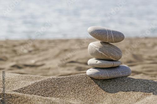 Fototapeten,steinhaufen,steinquader,steinskulptur,strand