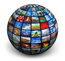 Picture globe
