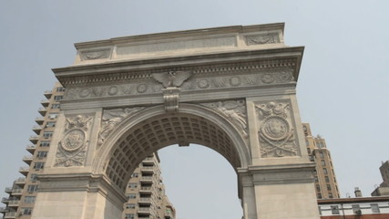 Washington Square Park Arch in NYC