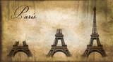 Paris, construction de la tour Eiffel