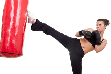 Woman Kick