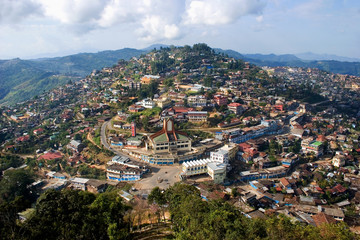 Village Kohima, state of Nagaland, India