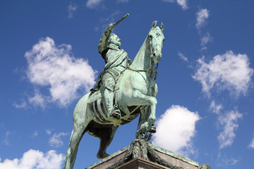 King of Sweden - statue of Gustav II Adolf