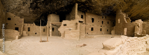Spruce Tree House panorama, Mesa Verde National Park, CO
