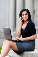 Outdoor Businesswoman