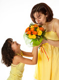 Flowers for mommy