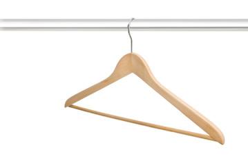 Single hanger on rack
