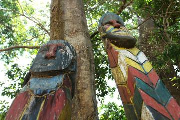 Moken tribe, The sign of the Moken or sea gypsy.