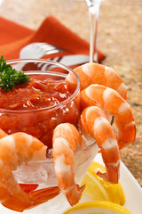 Delicious Shrimp Cocktail