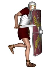 Imperial Roman Legionary Soldier - 2