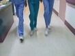 Medical personnel in hospital